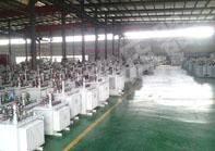 上海s11油浸式变压器成品一角